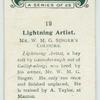 Lightning Artist.