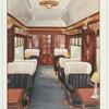 """First-class car, """"The Southern Belle."""""""