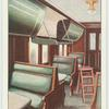 """Interior of colonist car, """"The Continental Ltd."""""""