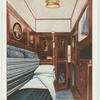 "Single-berth compartment, ""The Blue Train."""