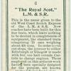 """The Royal Scot,""  L.M. & S.R."