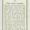 """""""The Union Limited."""""""