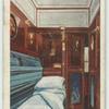 """Single-berth compartment, """"The Blue Train."""""""