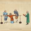 Torture by pressing the ancles [sic] of criminal with wooden poles