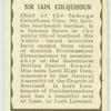 Sir Iain Coloquhoun.