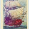 "The ""Golden Hind"" 1588."