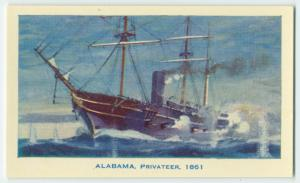 "The ""Alabama"" privateer, 1861."