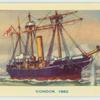 """H.M.S. """"Condor"""" 1882."""