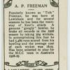 A.P. Freeman.