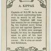 A. Kippax.