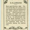 D.R. Jardine.