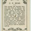 C.P. Mead.