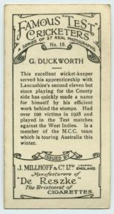 G. Ducksworth.