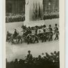 King George V's last journey to Westminster.