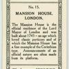Mansion House, London.