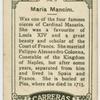 Maria Mancini.