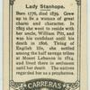 Lady Stanhope.