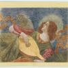 Da Forli.  Angel with a lute.