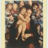 Mategna.  Madonna, child and cherubim.