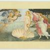 Botticelli.  The birth of Venus.