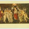 Botticelli.  Primavera.