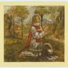 Pinturicchio.  A young knight kneeling.