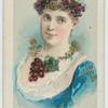 "Agnes Huntington ""Queen of the Vineyard""."