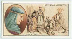 St. Margaret, Queen of Scotland (c. 10545-1093).