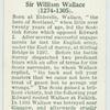 Sir William Wallace (1274-1305)