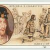 James I, King of Scotland (1394-1437).