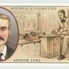 Andrew Lang (1844-1912).