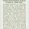 Arthur James Balfour, Earl of Balfour (1848-1930).