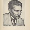 Porträt des Dichters Juhan Liiw