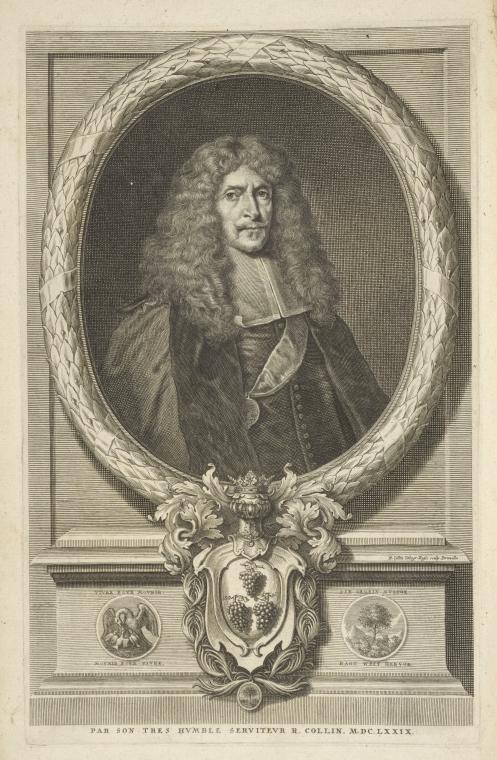Fascinating Historical Picture of Richard Collin in 1683