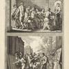 Composuit Zeuxes Iunonem e Quinque Puellis; Parrhasius Velo, Volucris Ceu Fallitur Uva.