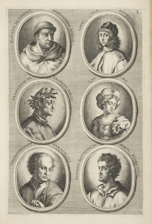 Fascinating Historical Picture of Leon Battista Alberti in 1683