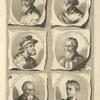 Bust portraits.] Iulio Romanus Mantuan., Francesco Mazzoli Parmigiano, [...]