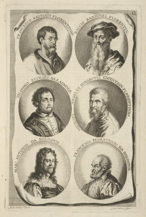 Fascinating Historical Picture of Baccio Bandinelli in 1683