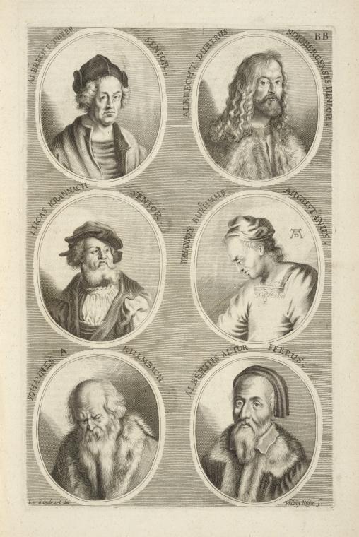 Fascinating Historical Picture of Albrecht Durer in 1683