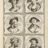 Bust portraits.] Bartholome: Boham Noribergensis, Iacob Binckius Pictor et Sculptor, [...]