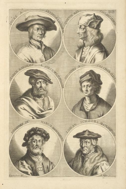 Fascinating Historical Picture of van Leyden Lucas in 1683