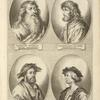 [Bust portraits.] Iohannes Holbein Senior Augustanus, Sigismundus Holbein Augustanus, [...]