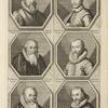 Bust portraits.] Ioos Maurer Tigurinus, Tobias Stimer Schafhusanus, [...]