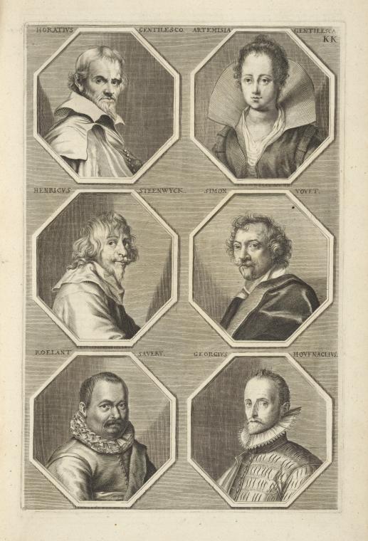 Fascinating Historical Picture of Orazio Gentileschi in 1683