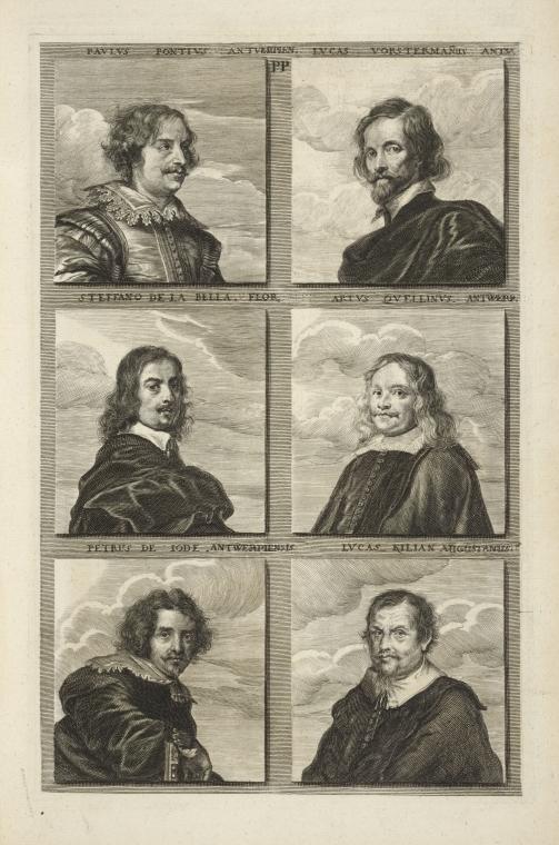 Fascinating Historical Picture of Paulus Pontius in 1683