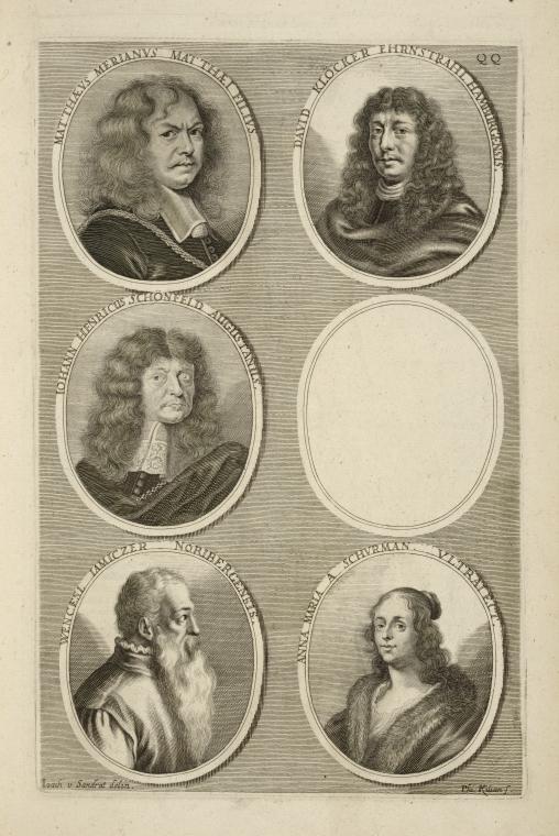 Fascinating Historical Picture of Matthaeus Merian in 1683