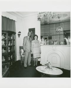 Cléar H. & Gloria Quiñones. 1480 Pacific St., Bedford-Stuyvesant, Brooklyn. December 2, 1978.