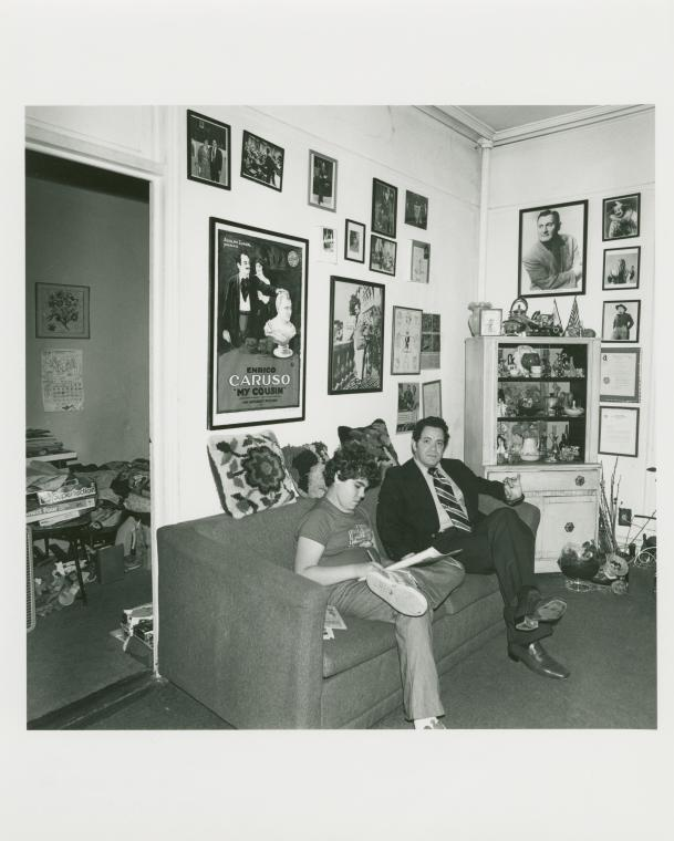 Nino Pantano & son. 305A President St., Carrol Gardens, Brooklyn. June 25, 1978.