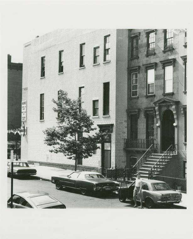 Fred & Nana Albee home & dancing school. 230 Carroll St., Carroll Gardens, Brooklyn. July 7, 1978.