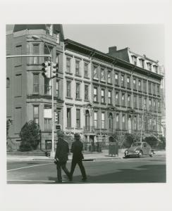Tim & Carol Bitzer (2nd house from corner). 300 Washington Ave., Clinton Hill, Brooklyn. March 31, 1978. Betty Brown (3rd house, west door). 298 Washington Ave. (shot April 2).